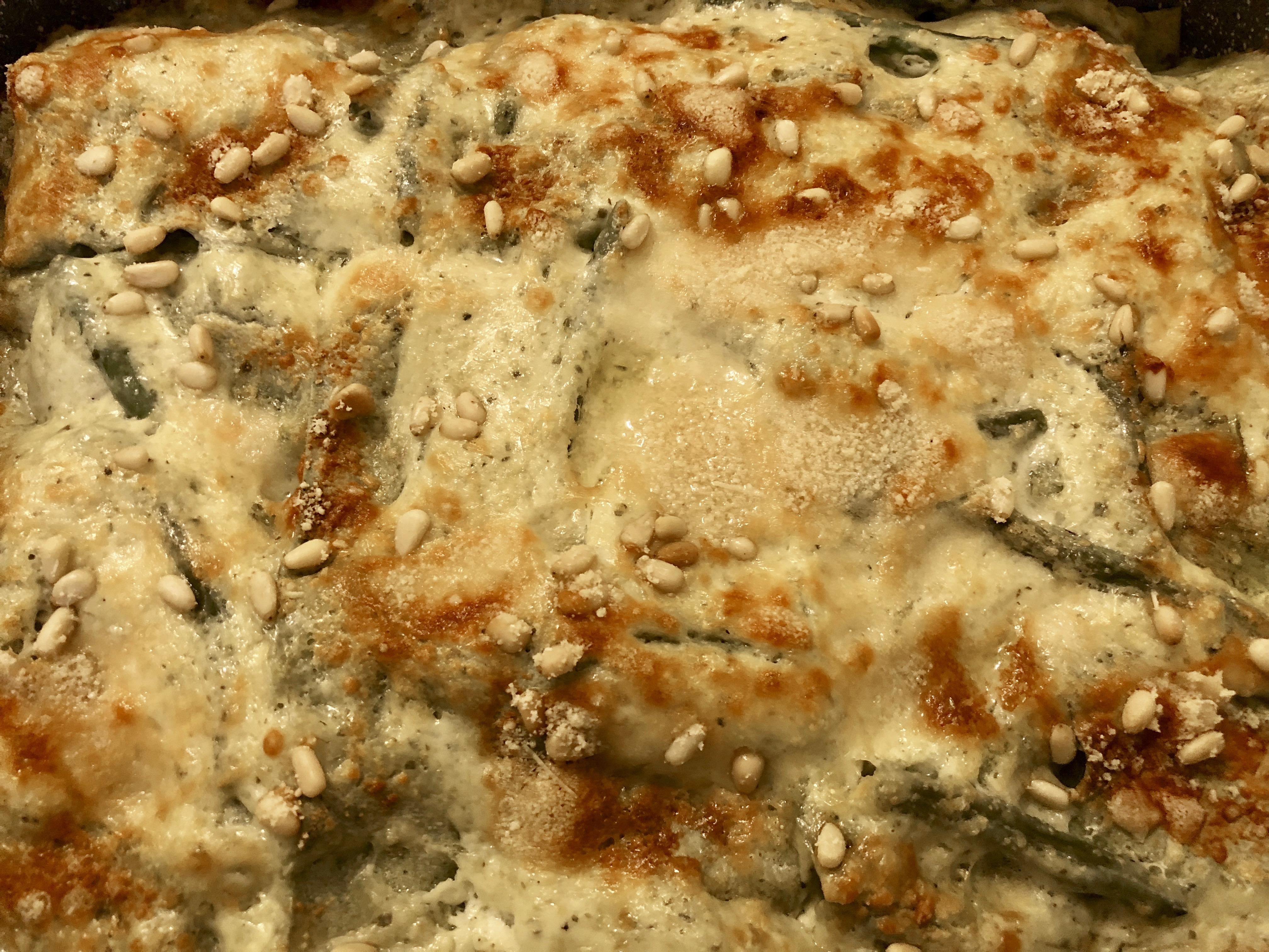 Lasagne con il pesto alla genovese