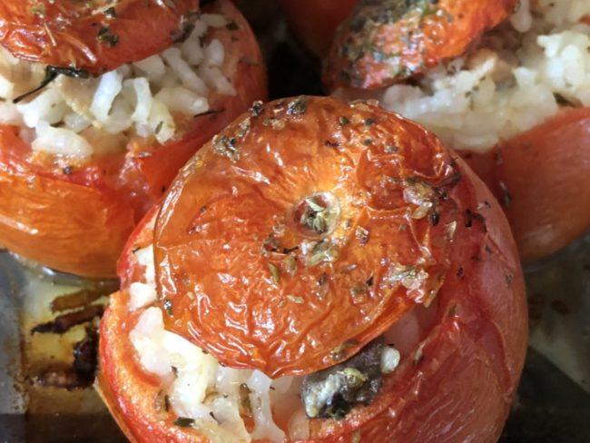 I pomodori ripieni di riso