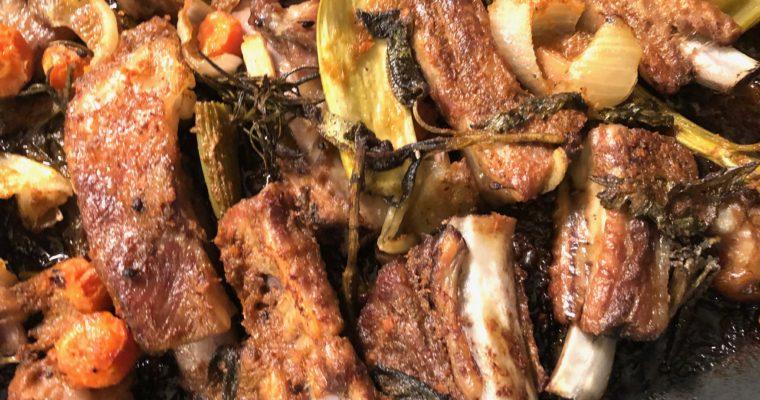 Cucinare sotto vuoto: le costine (costesine, spuntature)